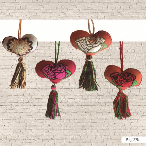 Corazón amuleto sencillo